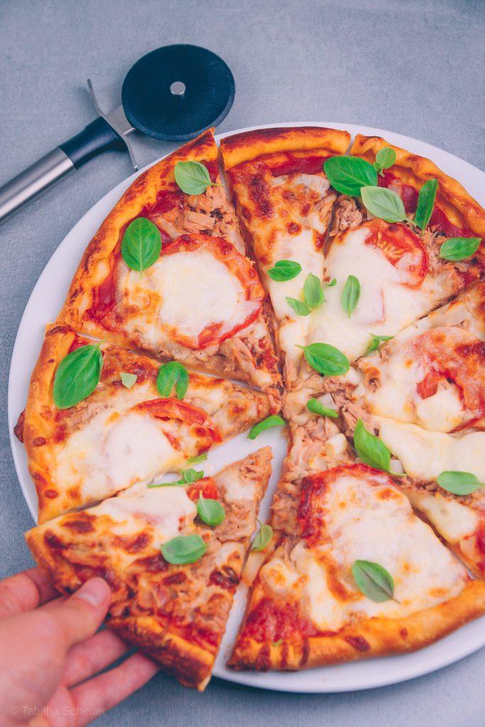 Rezept für italienische Pizza