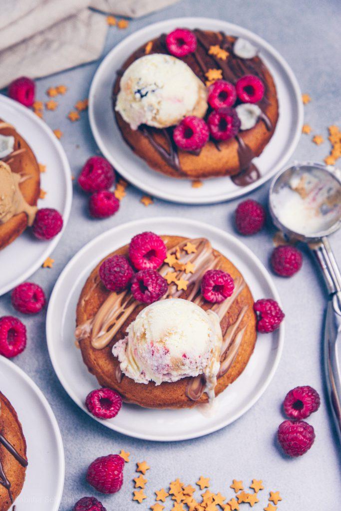 Weihnachtliche Zimt Pancakes
