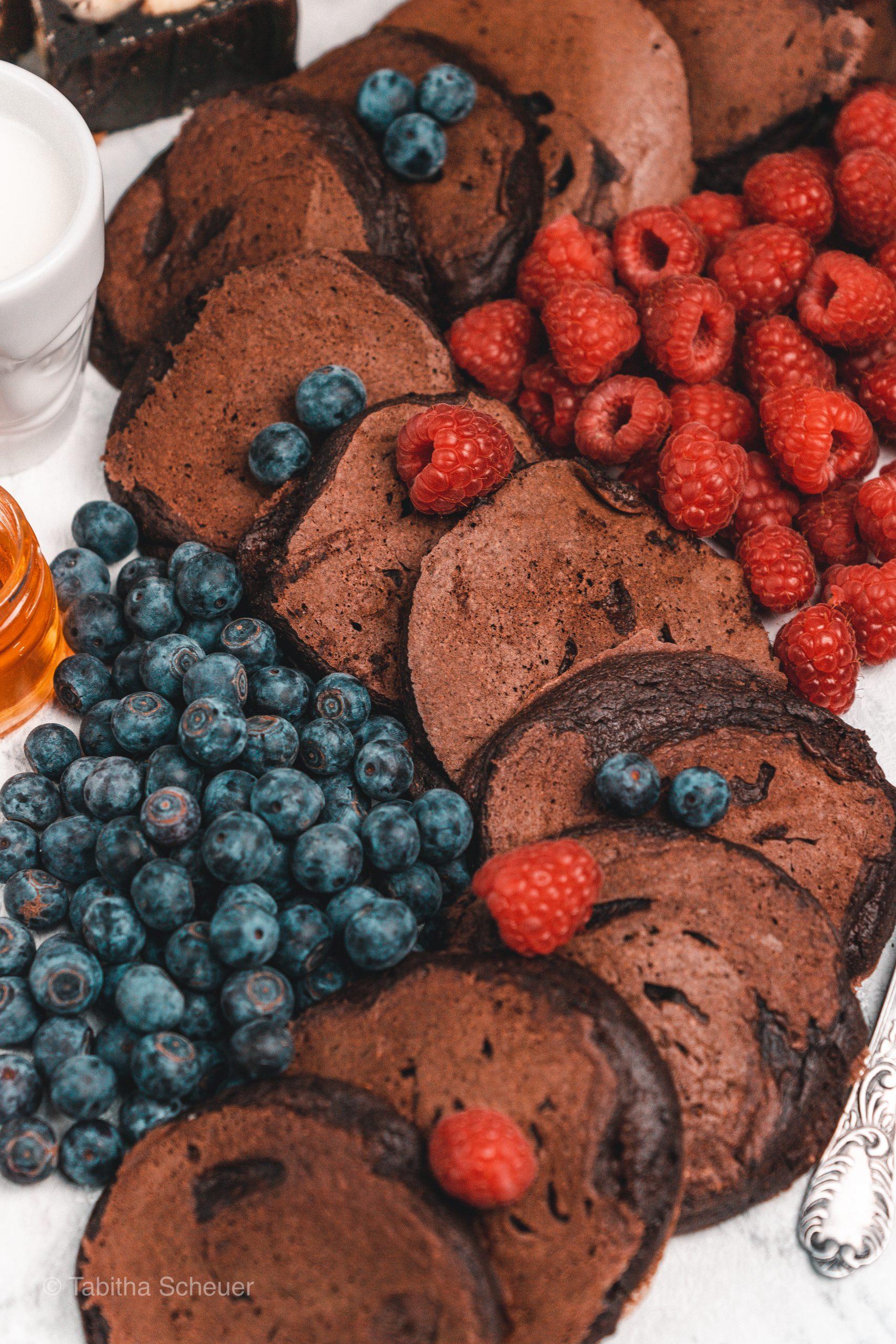 Die besten Schoko Pfannkuchen
