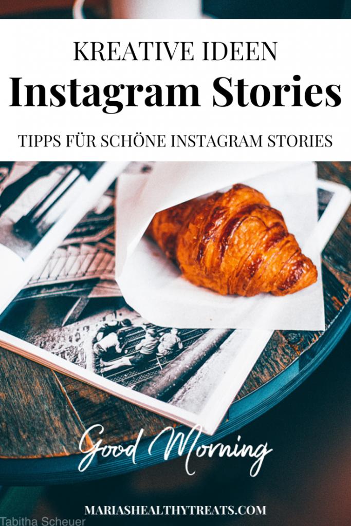 Kreative Instagram Stories erstellen