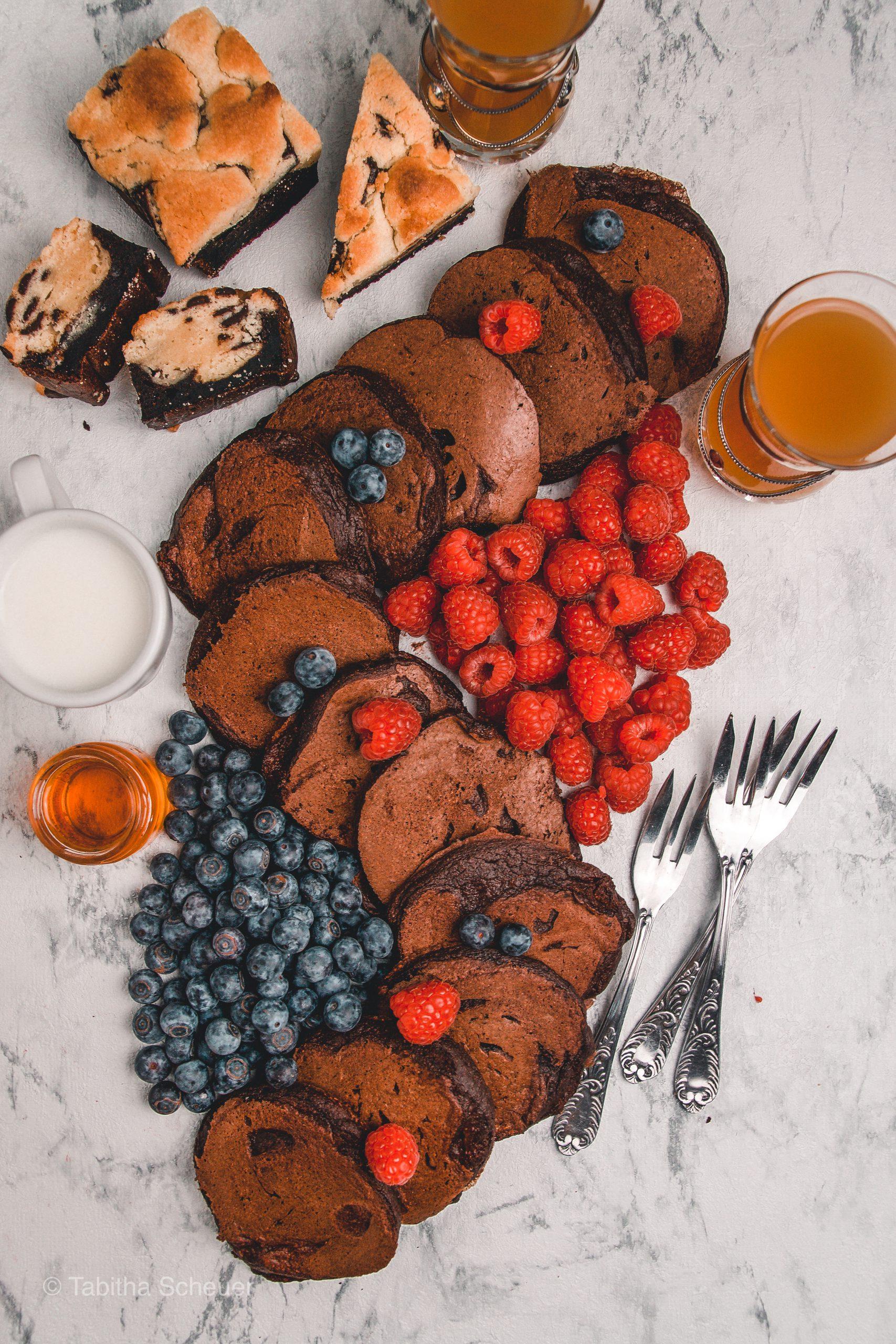 Rezept für Schoko-Pfannkuchen | mariashealthytreats