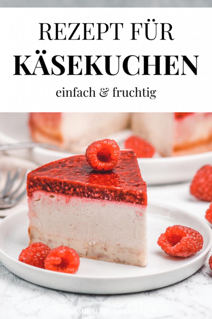 Rezept für Käsekuchen | einfach & fruchtig