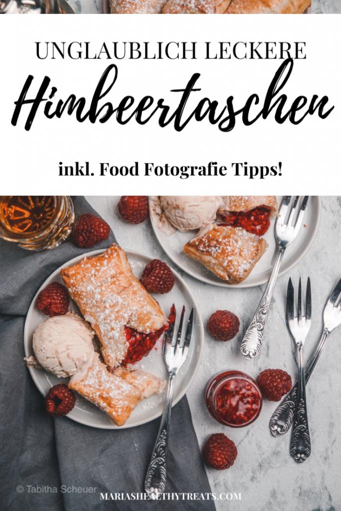 Unglaublich leckere Himbeertaschen inkl. Food Fotografie Tipps