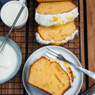 Zitronenkuchen Rezept |Rezept für Lemon Drizzle Cake | Rührkuchen Rezept wie von Oma