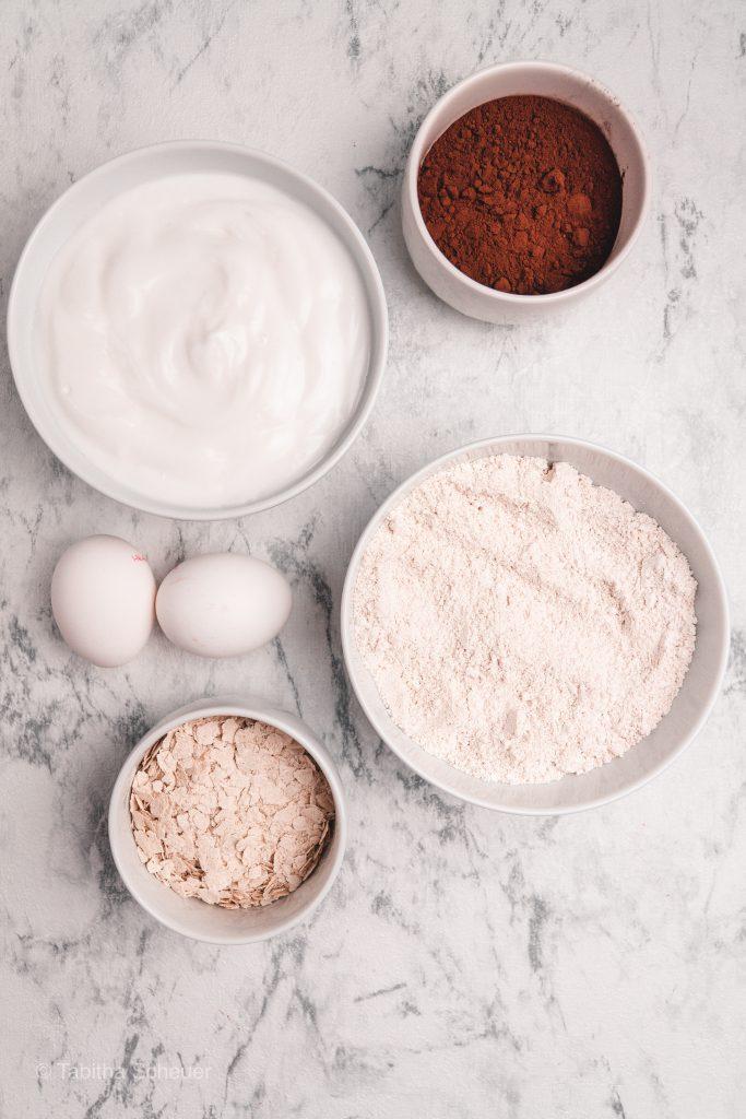 Zutaten für Schoko-Pfannkuchen | mariashealthytreats Rezepte