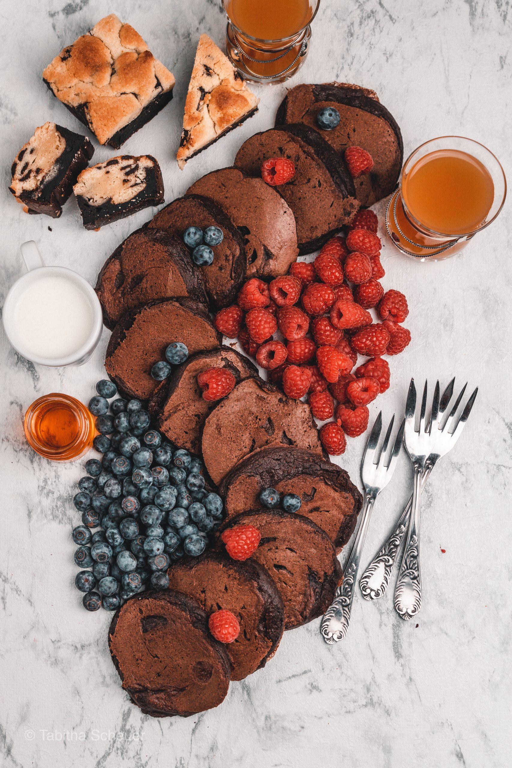 mariashealthytreats Blog |Foodblog |Schoko-Pfannkuchen |Schoko-Pancakes