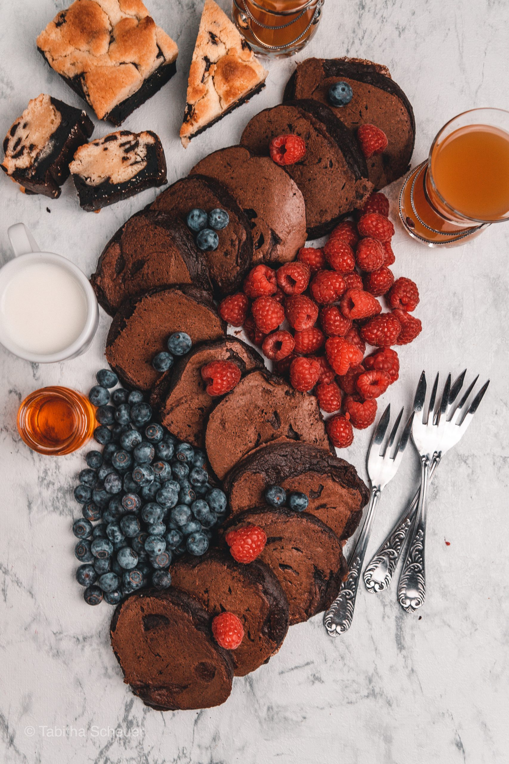 mariashealthytreats Rezept für Schoko-Pancakes