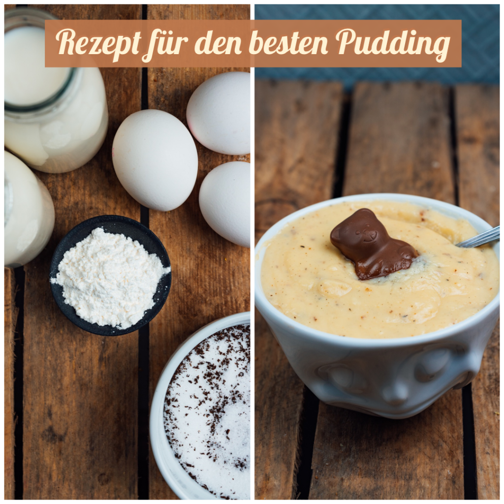 Grafik | Selbstgemachter Pudding | Rezept für leckeren Pudding
