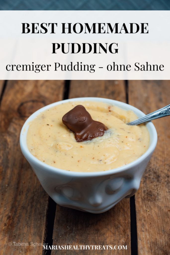 Pinterest | Best homemade Pudding | Cremiges Puddingrezept