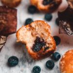 Blaubeer Muffins ohne Zucker
