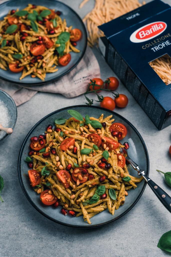 Barilla Collezione | Rezept für mediterrane Pasta mit Barilla Trofie