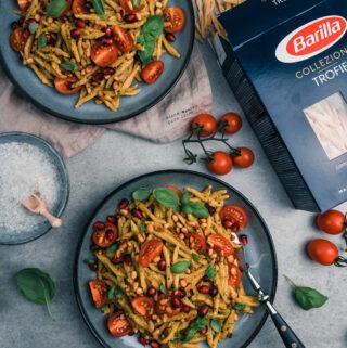 Unglaublich leckeres Rezept für mediterrane Pasta mit Barilla Collezione Trofie